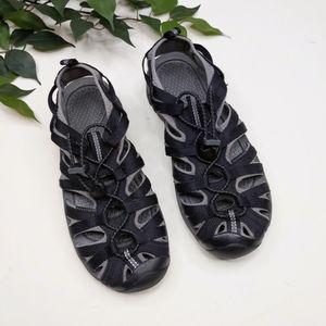Keen Whisper Black Water Hiking Sports Sandal